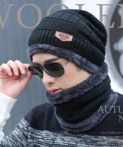 bộ khăn mũ nỉ lông