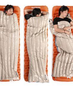 túi ngủ lông vũ